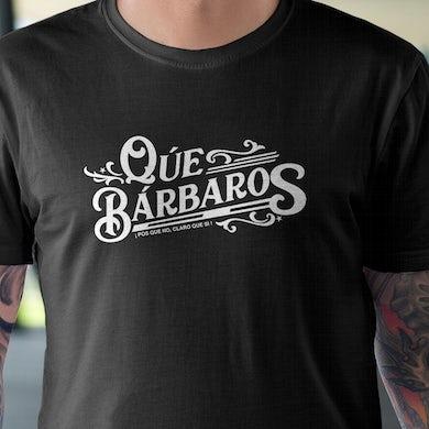 Los Rieleros del Norte Que Barbaros - Mens T-Shirt