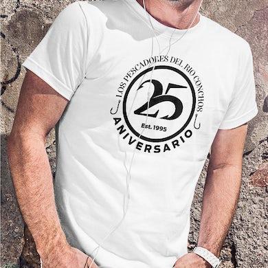 Los Pescadores Del Rio Conchos Pescadores 25 Anniversary Mens T-Shirt