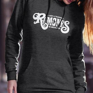 Los Rieleros del Norte Ramones De Nuevo Leon Ladies Hoodie