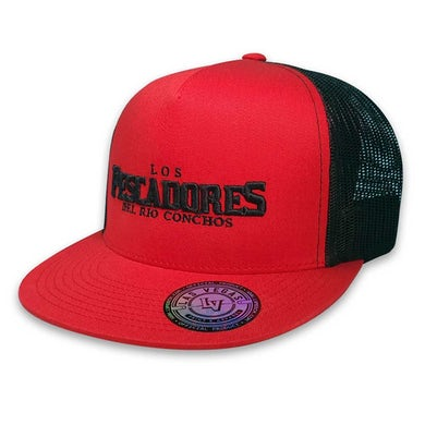 Los Pescadores Del Rio Conchos Pescadores - Red Hat 3d Logo