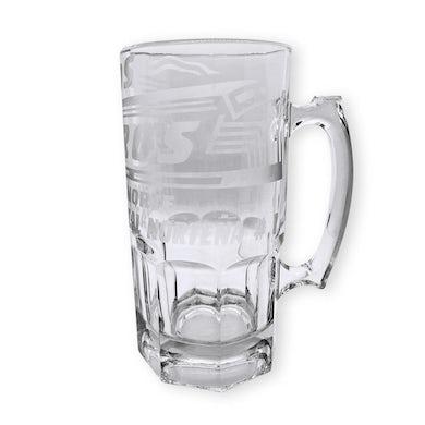 Los Rieleros del Norte - Glass Mug