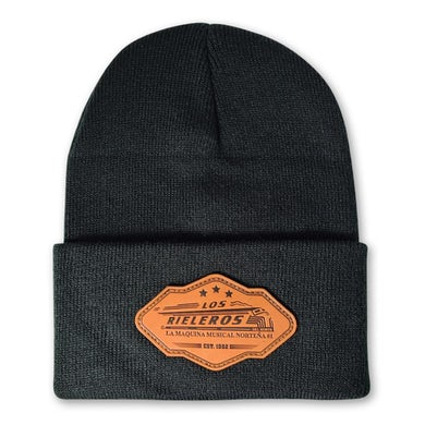 Los Rieleros del Norte - Leather Beanie Limited Edition
