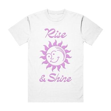 RISE & SHINE TEE WHITE