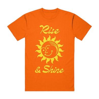 RISE & SHINE TEE ORANGE