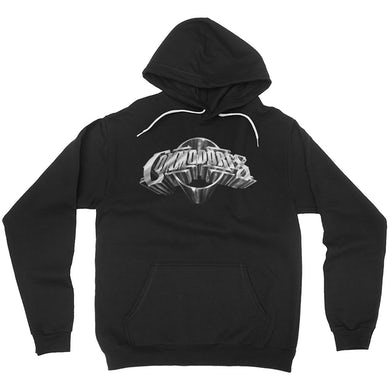 The Commodores Classic Logo Hoodie (Black / Silver)