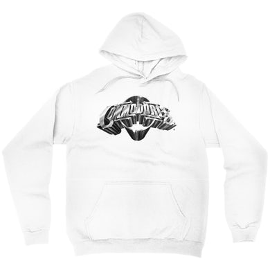 The Commodores Classic Logo Hoodie (White / Silver)