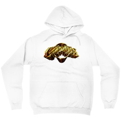 The Commodores Classic Logo Hoodie (White / Gold)
