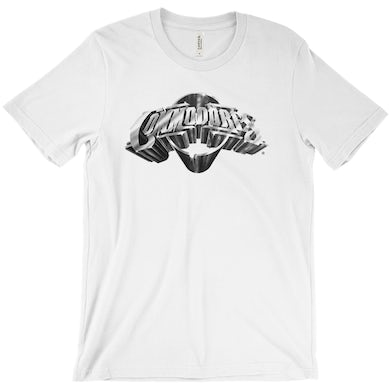 The Commodores Classic Logo T-Shirt (White / Silver)