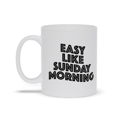 "The Commodores ""Easy Like Sunday Morning"" Coffee Mug (Silver Logo)"