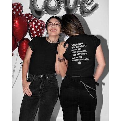Rave Clothing Wir leben für die Nächte an die sich keiner erinnert Ladies T-Shirt