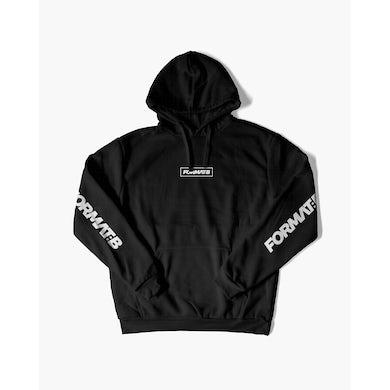 Format:B Hoodie in schwarz