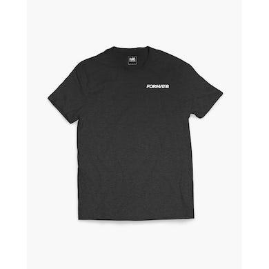 Format:B Crew T-Shirt in dunkelgrau