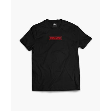 Format:B Box T-Shirt in schwarz