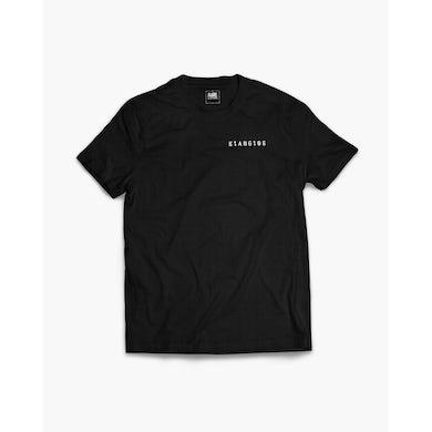 Klanglos Crew T-Shirt in schwarz