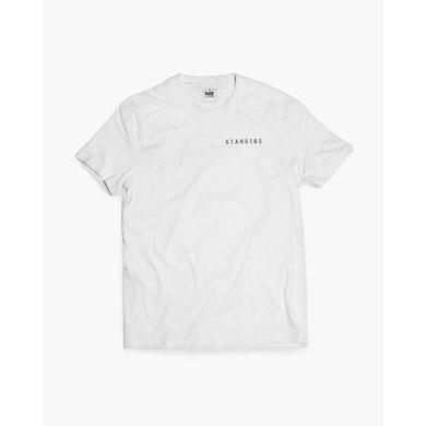 Klanglos Crew T-Shirt in weiß