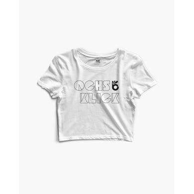 Ochs & Klick Crop Top in weiß