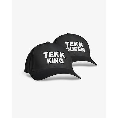 Rave Clothing Tekk King Tekk Queen Baseball Kappen