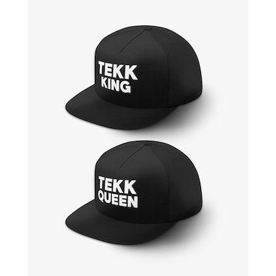 Rave Clothing Tekk King Tekk Queen Snapbacks