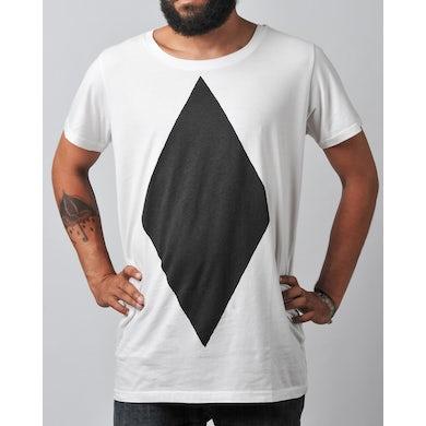 Loco Dice Diamond T-Shirt in weiß