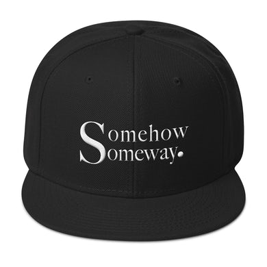 Coley Somehow Someway Snapback Hat