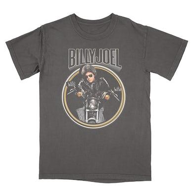 Billy Joel Vintage Black Retro Motorcycle T-Shirt
