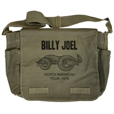 Billy Joel Snake and Dagger North American Tour 1978 Messenger Bag