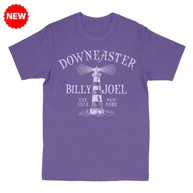 Billy Joel Purple Women's T, Downeaster Lighthouse
