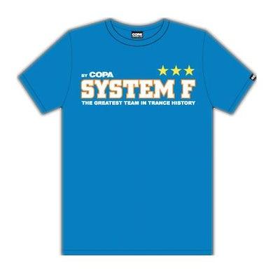 Ferry Corsten System F Greatest Team T-shirt Blue Men