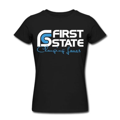 First State 155681 Changing Lanes T-shirt Women
