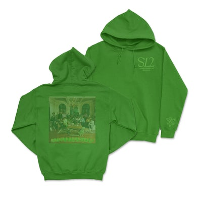 Young Thug SL2 Album Cover Green Hoodie (Pre-Order)