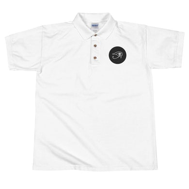 Lil Will Real Life Eye of Horus ( Embroidered Polo Shirt )