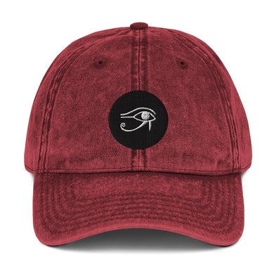 Lil Will Real Life Eye of Horus ( Vintage Cotton Twill Cap )