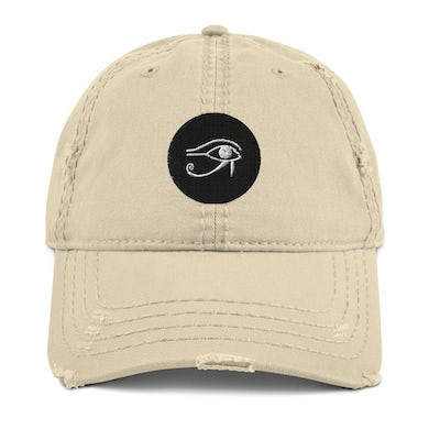 Lil Will Real Life Eye of Horus ( Distressed Dad Hat )