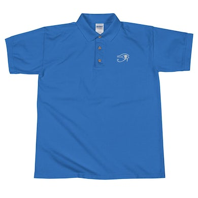 Lil Will Real Life Eye Of Horus ( Embroidered Polo Shirt II )