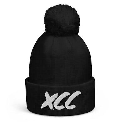"""XCC """"Xuitcasecity"""" Pom pom beanie"""