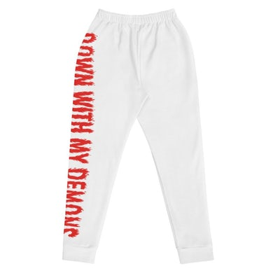 """XCC """"Down with My Demons"""" Premium Women's Joggers"""