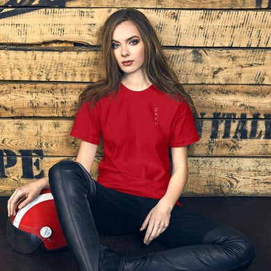 Unisex Travel With Zaku Red T-Shirt