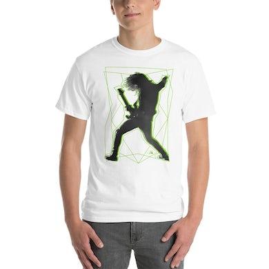 Kiko Loureiro Green & White Short Sleeve Unisex T-Shirt