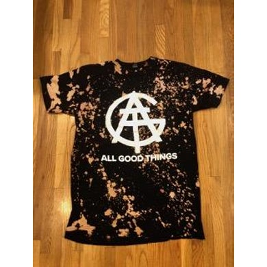 All Good Things Helena Acid Wash Logo T-Shirt