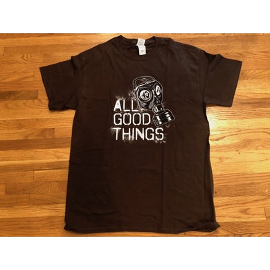 All Good Things Brown Gas Mask T-Shirt