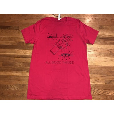 All Good Things Red Gas Mask Schematics T-Shirt