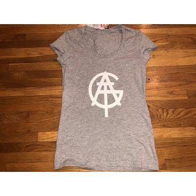 All Good Things Girls XS Light Gray Logo Tshirt