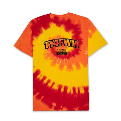 AllBlack TY4FWM P.E. Tshirt (Tie Dye)