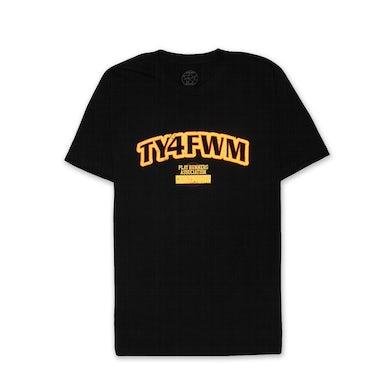 AllBlack TY4FWM P.E. Tshirt (Black)