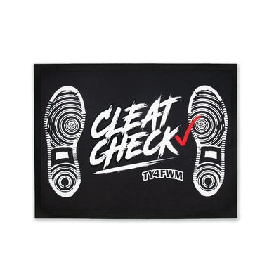 AllBlack TY4FWM Cleat Check Doormat