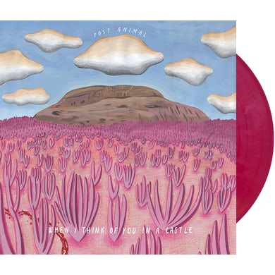 Post Animal When I Think of You In a Castle (180 Gram Magenta) Vinyl