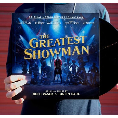 VNYL RCRDSTR The Greatest Showman (Black Vinyl)