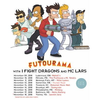 I Fight Dragons Futourama Poster