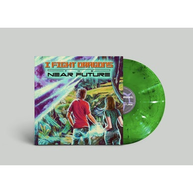 I Fight Dragons The Near Future LP & Poster & Graphic Novel & MP3