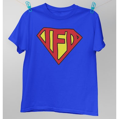 I Fight Dragons Superman T-Shirt  (discontinued) (Sizes XS, M)
